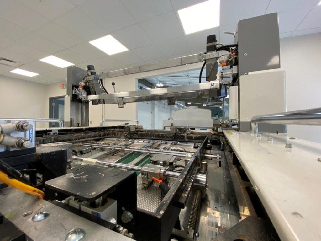 IML screen-printing line at Eimo Technologies, Inc.