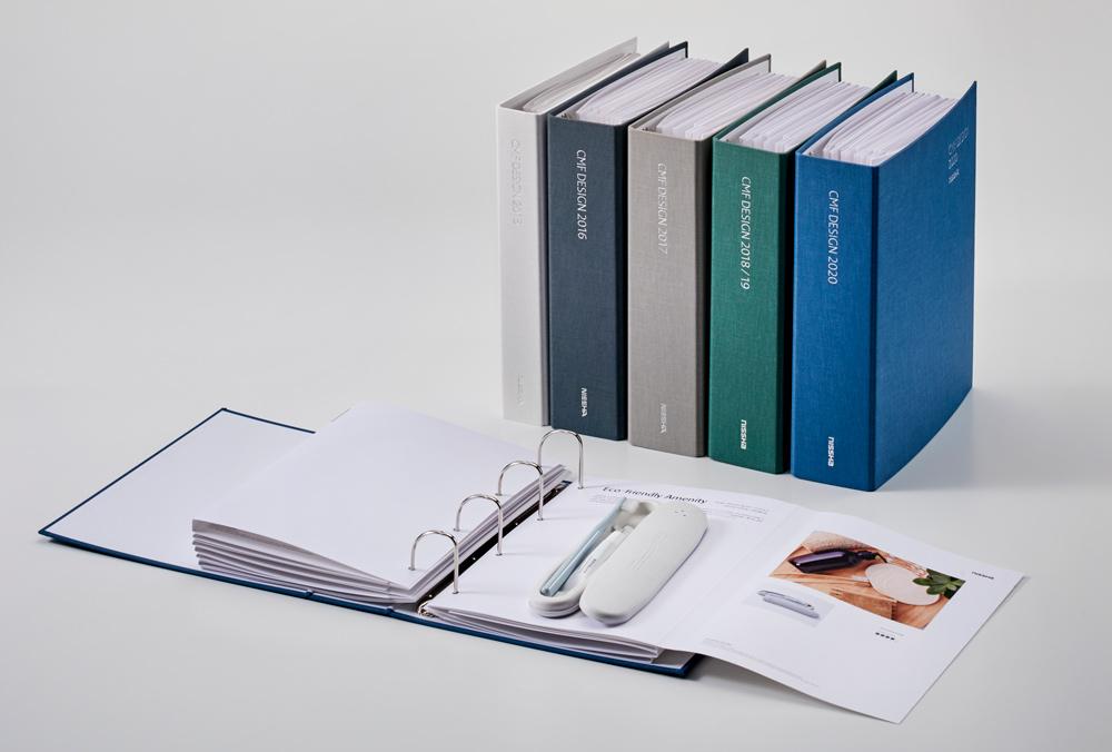 NISSHA's CMF Design Group issues a design sample book